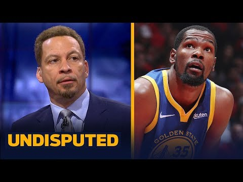 Chris Broussard thinks Kevin Durant felt a 'sense of disrespect' from Warriors | NBA | UNDISPUTED