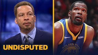 Chris Broussard thinks Kevin Durant felt a 'sense of disrespect' from Warriors | NBA | UNDISPUTED