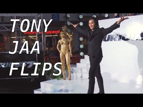 Tony Jaa Flips off Stage at Furious 7 Premiere in Los Angeles / Tony Jaa พลิกปิดเวทีในรอบปฐมทัศน์