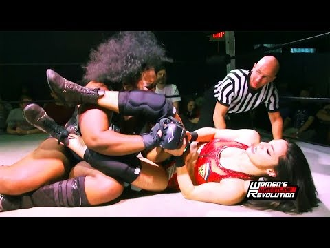 [Free Match] Awesome Kong vs. Deonna Purrazzo | Women's Wrestling Revolution (SHIMMER SHINE GLOW)