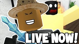 LIVE! - Roblox Murder Mystery 2 w/Subscribers! - COME JOIN ME!