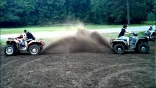 10. 2012 Polaris Sportsman 850 XP vs. 2010 Polaris Sportsman 800