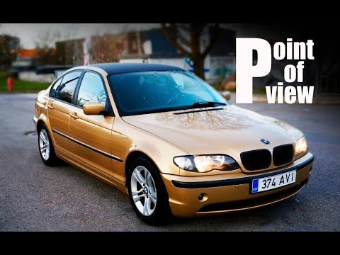 2002 Bmw 318i e46 Individual POV test drive and review