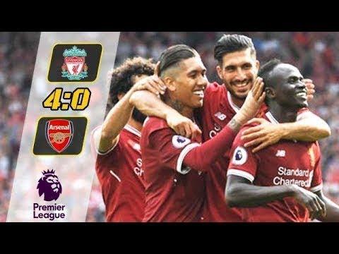 Liverpool vs Arsenal 4-0 All Goals & Highlights - Premier League 27/08/2017