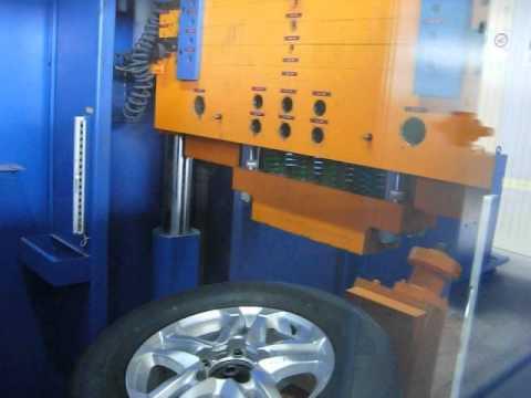Испытание спицы диска W1759 BRASIL на удар (Toyota)