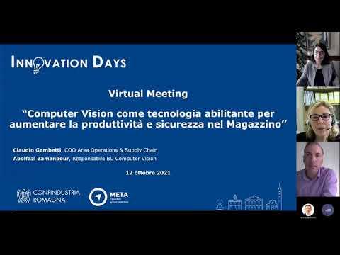Innovation days, esperienze di computer vision
