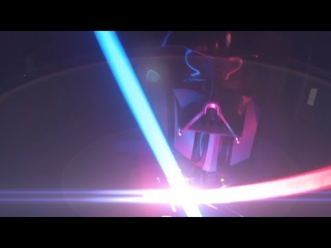 First Person Darth Vader - GoPro Lightsabers (Eric Jacobus) (видео)