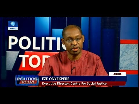 Why 2018 Budget Is Frivolous And Wasteful - Onyekpere |Politics Today|