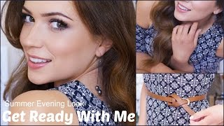 Get Ready With Me | Summer Night - YouTube