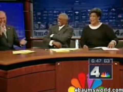 Model Falls twice - News anchors can't stop laughing Hilarious!