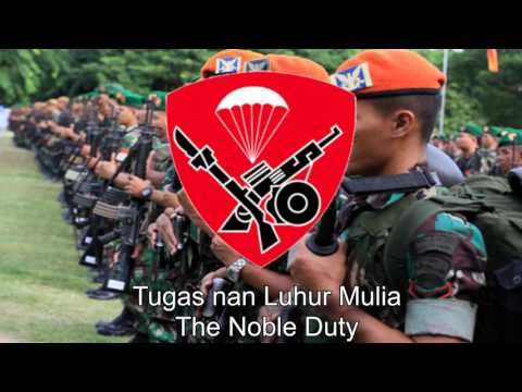 Indonesian National Forces Song (Paskhas) - Hymne Paskhas