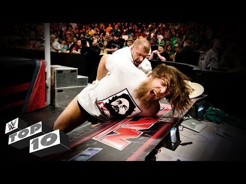 Video Triple H's Most Vicious Moments – WWE Top 10 download in MP3, 3GP, MP4, WEBM, AVI, FLV January 2017