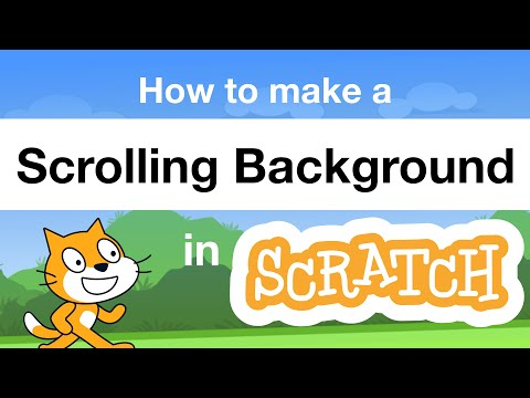 How to Make a Scrolling Background in Scratch | Tutorial