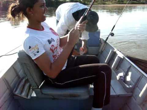 Pescaria na Pousada Peixe Boi no Rio Xingu.MPG