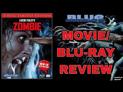 ZOMBIE (1979) - Movie/Blu-ray Review (Blue Underground)