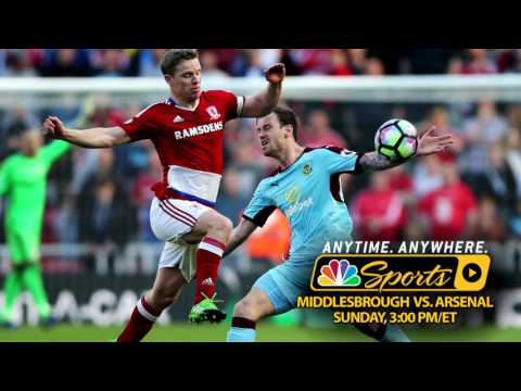Video: Premier League Preview: Middlesbrough v. Arsenal