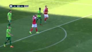 36. krog: Olimpija - Aluminij 1:0 ; Prva liga Telekom Slovenije 2016/17