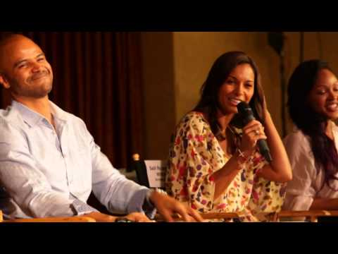 Dondre Whitfield and Salli Richardson Whitfield Discuss Marriage