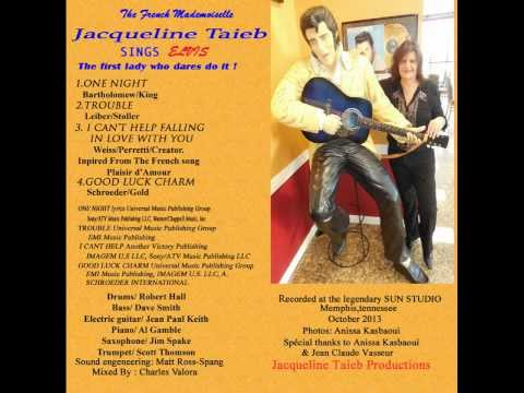 """Jacqueline Taïeb réinterprète """"I can't help falling in love with you"""" d'Elvis Presley"""