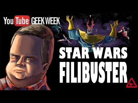 STAR WARS FILIBUSTER: Patton Oswalt's Rant Animated