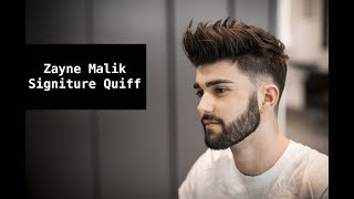 Video Zayn Malik Signature Hair Tutorial | Mens Summer Hairstyle Inspiration 2017 MP3, 3GP, MP4, WEBM, AVI, FLV April 2018