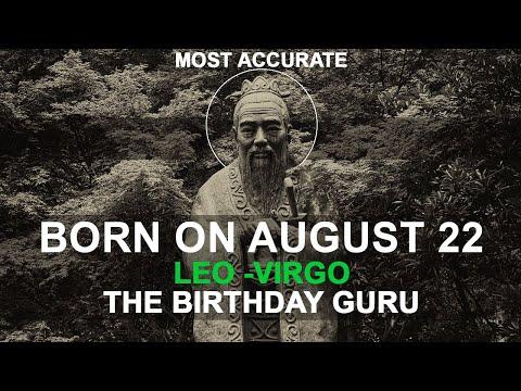 Born on August 22 | Birthday | #aboutyourbirthday | Sample | #birthdaygurutribemember
