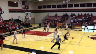 2015-16 Baker Women's Basketball Highlights
