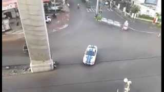 Ford Mustang in the Streets of India