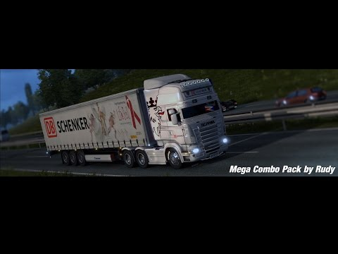 The Mega Combo Pack V5.0 for ETS2 v1.24 & v1.25