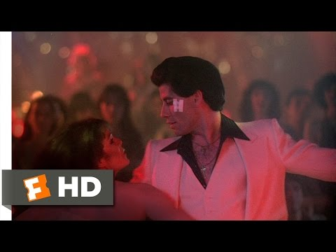 Saturday Night Fever - Saturday Night Fever Movie Clip - watch all clips http://j.mp/Apr1tL click to subscribe http://j.mp/sNDUs5 The dance floor is cleared as Tony (John Travolta)...
