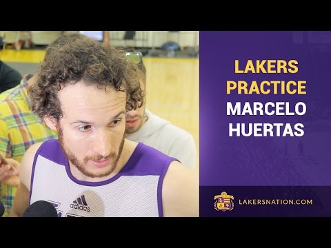 Video: Marcelo Huertas Advises D'Angelo Russell To Stay Humble