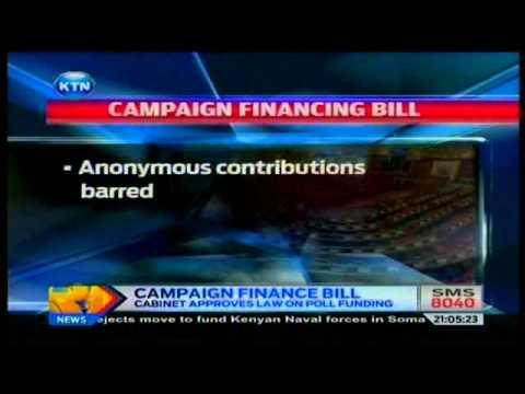 News: Campaign finance bill