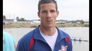SK Račice 2016: Vladimir Torubarov posle osvajanja srebrne medalje u K1-500