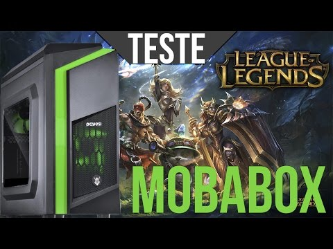 PC MOBA BOX - TESTE NO LEAGUE OF LEGENDS ‹ ChipArt ›