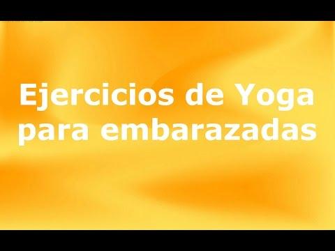 Ejercicios de Yoga para embarazadas