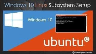 Video Windows 10 Bash & Linux Subsystem Setup MP3, 3GP, MP4, WEBM, AVI, FLV Juni 2018