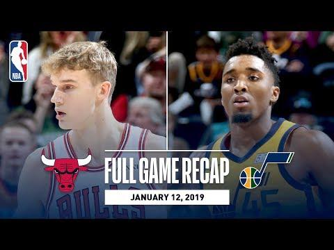 Video: Full Game Recap: Bulls vs Jazz | Mitchell Leads UTA