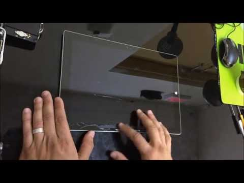 How to Replace LCD Glass Screen on Microsoft Surface Pro 3 | Take Apart