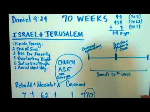 sermon on revelation - 1 WEEK is equal to 7 literal years. God uses the term 70 weeks to mean 490 literal years. 70 x 7 = 490. It took 49 years to rebuild the temple (7 weeks becau...