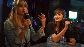LES ARDENTES 2014 :  AU REVOIR SIMONE INTERVIEW ON PURE