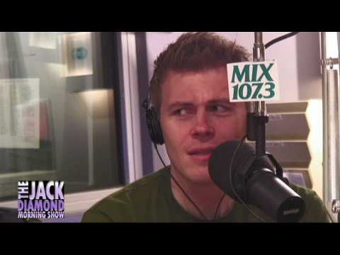 CHRISTIAN FINNEGAN on the JACK DIAMOND MORNING SHOW