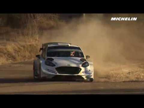 Tanak testing - 2017 WRC Rallye Monte-Carlo - Michelin Motorsport