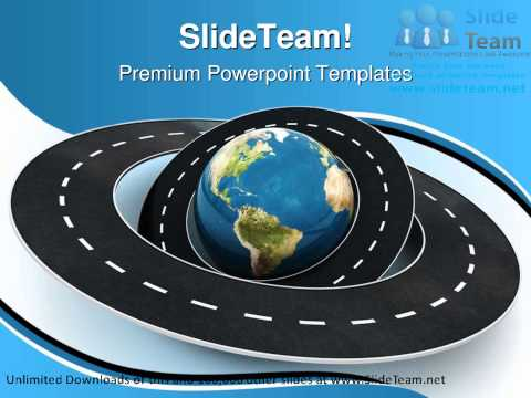 Roads Around The World Travel PowerPoint Templates Themes And Backgrounds ppt themes