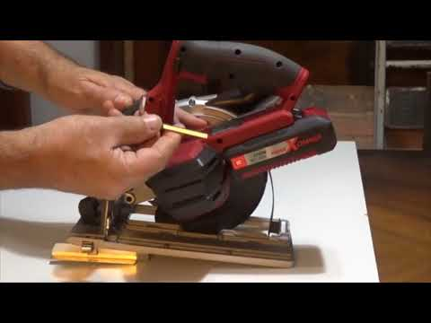 ¿Cómo funciona una sierra circular inalámbrica?