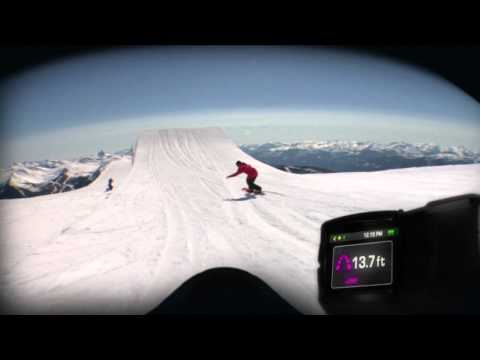0 Recon Instruments x Smith Optics   I/O Goggle with Head Up Display | Video