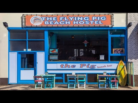 Video Flying Pig Beach Hostelsta