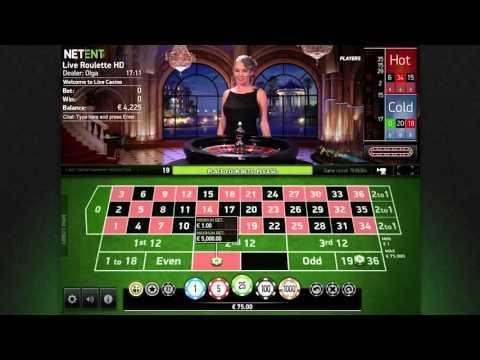 VIP Roulette BIG WIN – Live Casino Netent