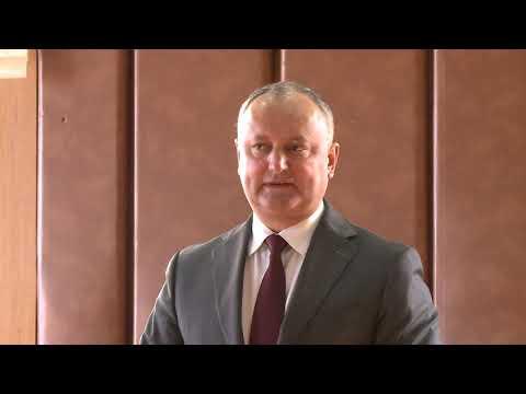 Președintele Igor Dodon a participat la Adunarea Generală de dare de seamă a Federației de Șah