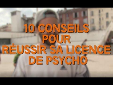 Dix conseils pour réussir sa licence de psychologie