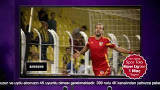In Spor Toto Super League, every week a match in 4K quality at Digiturk
